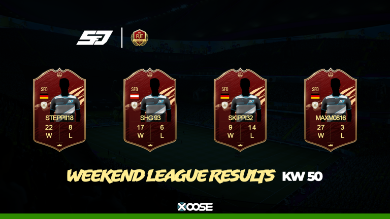Weekend League KW50