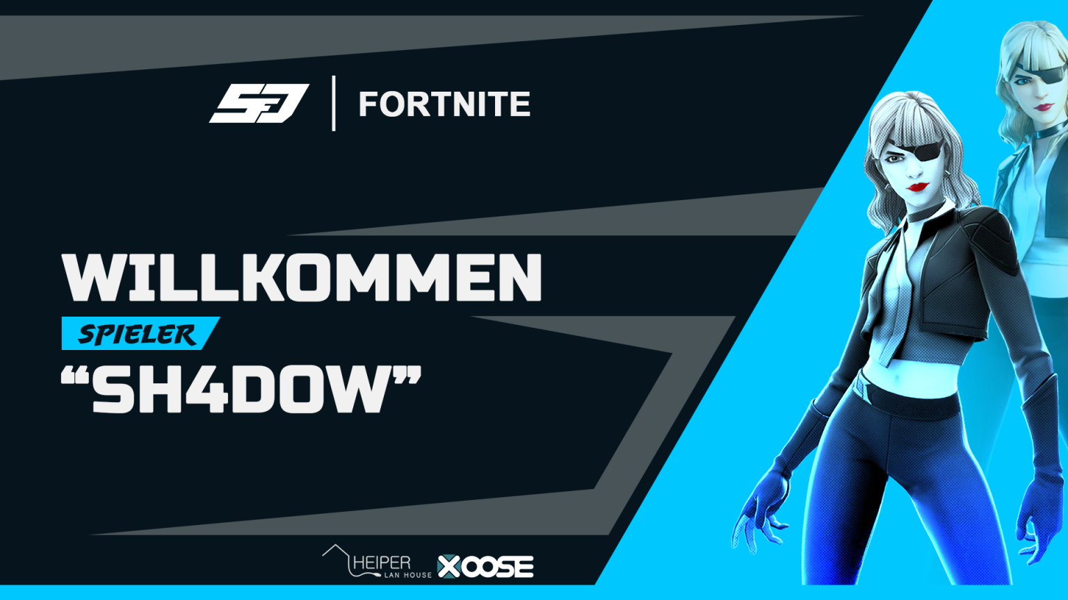 Sh4D0W joined unser Fortnite Team